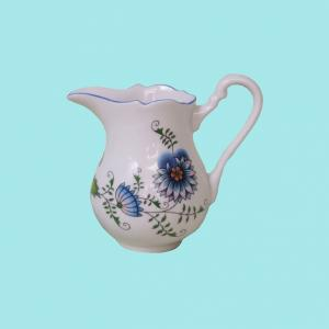 Zwiebelmuster Creamer Tall 0.16L,NATURE Original Bohemia Porcelain from Dubi