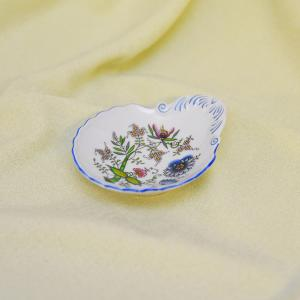 Zwiebelmuster Small Shell Dish,NATURE Original Bohemia Porcelain from Dubi