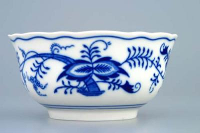Zwiebelmuster Large Bowl, Original Bohemia Porcelain from Dubi