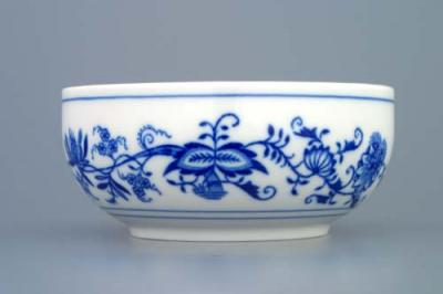 Zwiebelmuster Dish Small and Tall 11cm, Original Bohemia Porcelain from Dubi