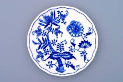 Zwiebelmuster Underplate for Pot, Original Bohemia Porcelain from Dubi