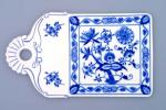 Zwiebelmuster Platte für Brot 27,5cm Original Bohemia Porzellan aus Dubi