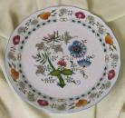 Nature Zwiebelmuster Club Plate 30cm, Bohemia Porcelain from Dubi