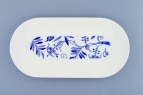 Zwiebelmuster Oval Dish Small, Bohemia Porcelain from Dubi